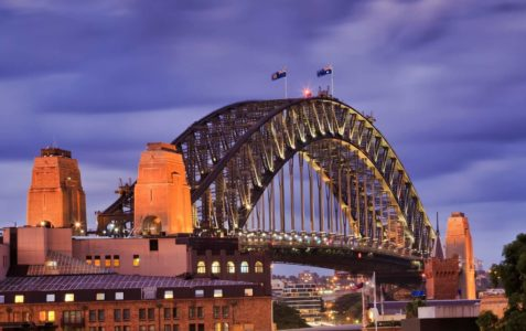 George St Sydney Harbour Bridge