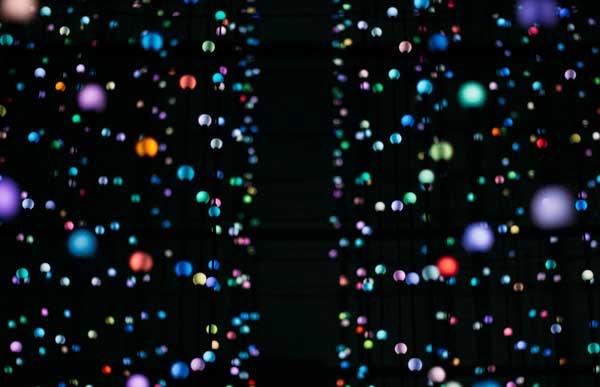 abstract orbs